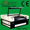 HM-S1310 Guangzhou high speed ball screw laser engraving cutting machine for nonmetal (want agent)