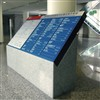 Aluminum Standing Floor outdoor Sign