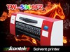 ICONTEK 5 Meter large format solvent digital printer