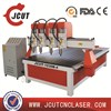 china supplier new technology 3d cnc router wood carving machine woodworking tools milling machines cnc wood router price  JCUT-1530B-4 ( 59''/2x118''x7.8'' )