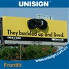 pvc frontlit flex banner for advertising