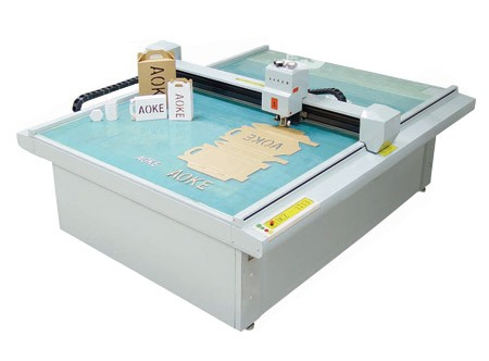 sample maker cutter plotter pop display digital table carton box