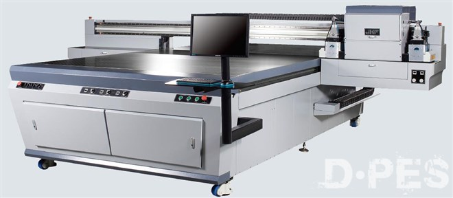 Wide-format high speed flatbed UV digital printer - BEIJING JHF
