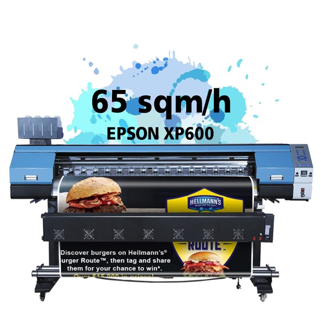 Hot sale 1.7/2/3.2m  eco solvent printer with high production for outdoor advertising