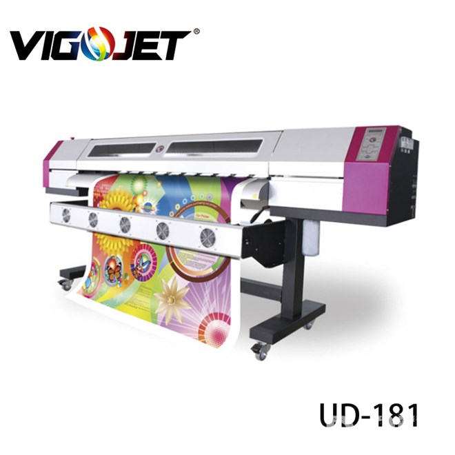 high quality eco solvent printer price  for Galaxy UD-181LC/1812LC  with dx5 print head for vinyl printing