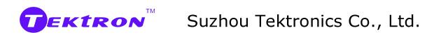 Suzhou Tektronics Co.Ltd