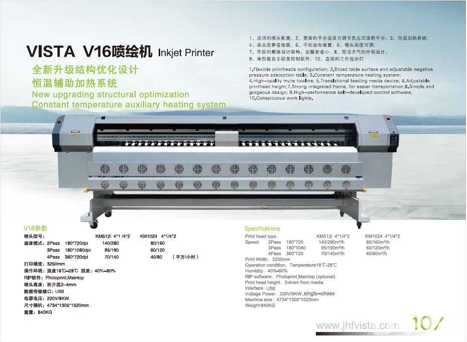 Leopard A16 solvent inkjet digital printer - BEIJING JHF